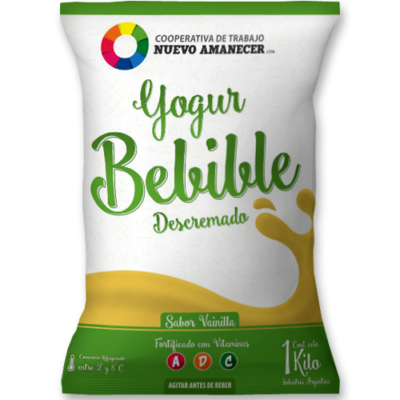 Yogur Bebible Descremado Vainilla